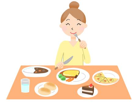 大食い 女性