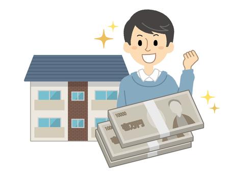 Real estate investment illustration 02
