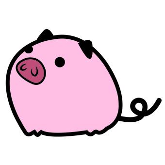 착석 돼지