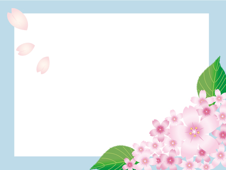 Sakura frame · background 2