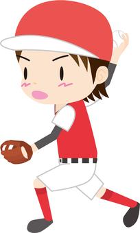 垒球(投手)