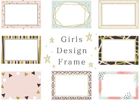 Girls Design Frame