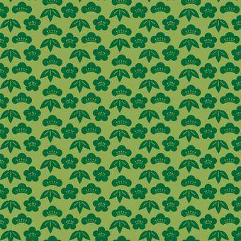 Shoot bamboo plum pattern -3