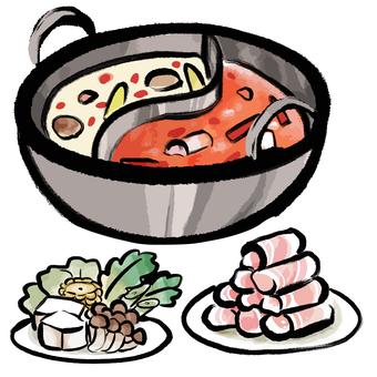 Fire pot set