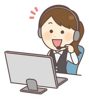 Call center consultation desk 01