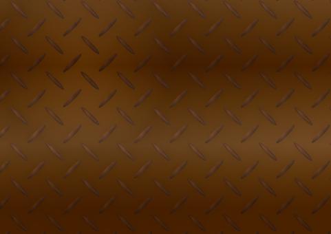 Iron plate rust