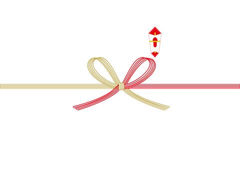 熨斗 ‗ butterfly knotting water drawing
