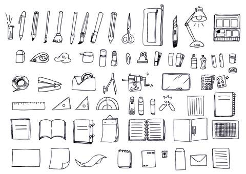 ㊿ Pen magic stationery