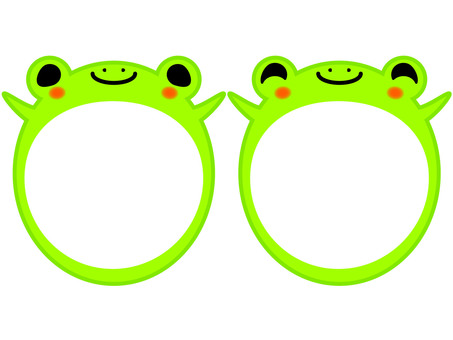 Frog memo (2 animals)