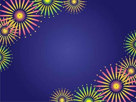 Fireworks Frame