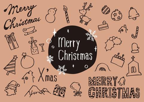 手繪聖誕節1