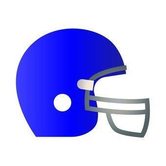 미식 축구 헬멧 · 파랑