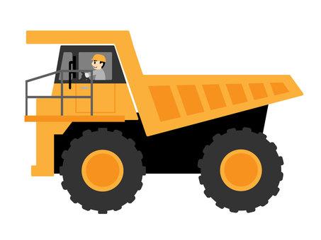 重型自卸車