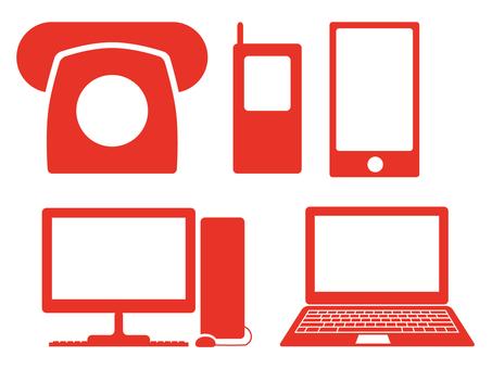 個人電腦·智能手機·手機4