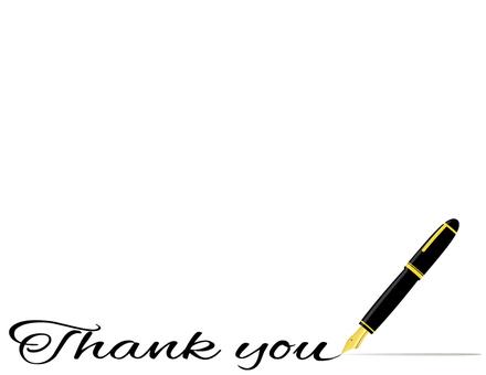 Ten years pen _Thankyou