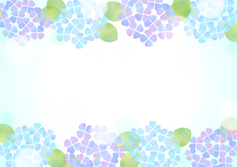 Pastel color hydrangea background 2