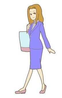 Female-OL- commuter