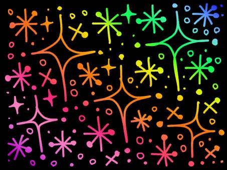 Rainbow 【glittering】