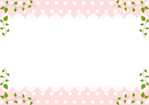 Lace frame background