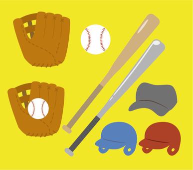 Baseball tool set (without border)