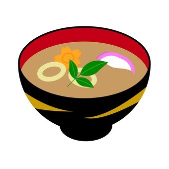 Omake's miso soup