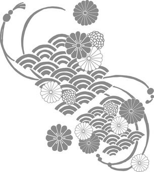 Papatya dalgası (gri)