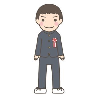 Freshman boy
