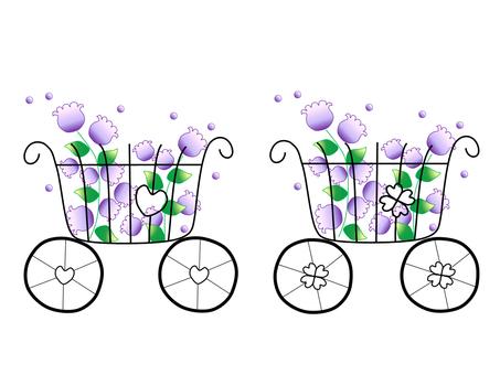 Floral basket _ 3