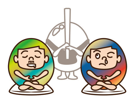 Uncle Dad / Zen meditation