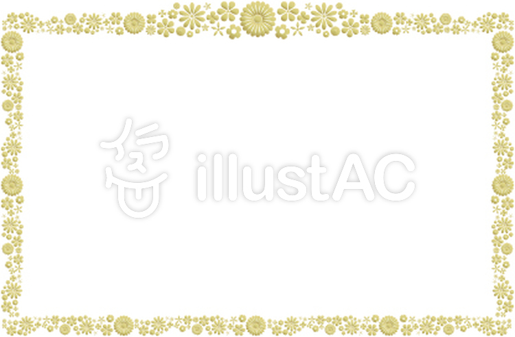 表彰状風のフレームイラスト No 464311無料イラストならイラストac