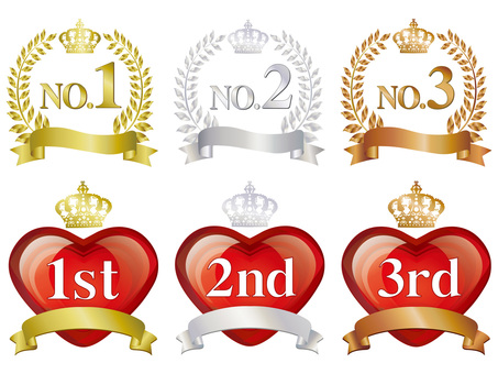 Rank Ranking Display Icon Material Illustration