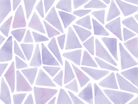 Watercolor tile purple