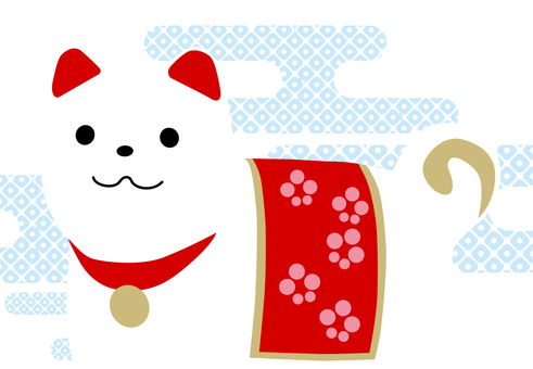 Japanese style New Year's card