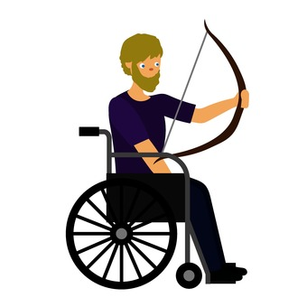 Wheelchair archery