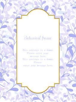 植物框架01 /紫色