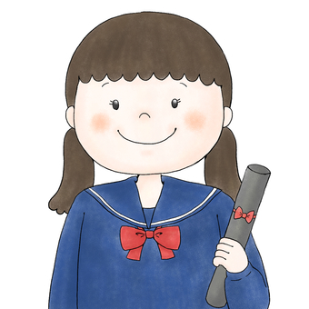 Girl (graduation ceremony)