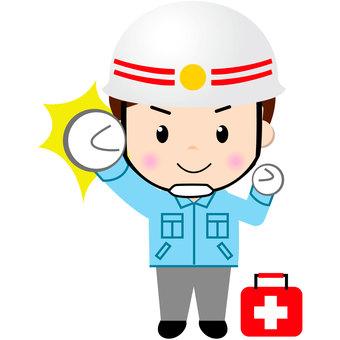 A life rescuer (motivation)