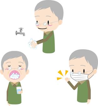 Health management (elderly male)