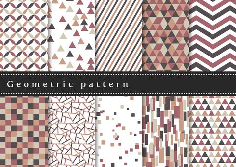 パターンセット040 幾何学模様