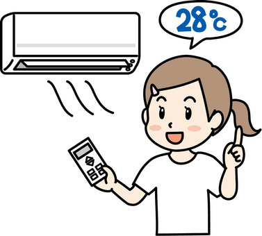 Air conditioner power saving
