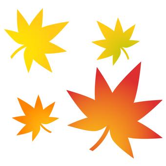 Autumn leaves illustration 2