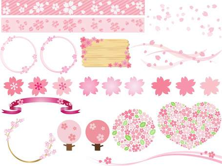 Cherry blossom material summary