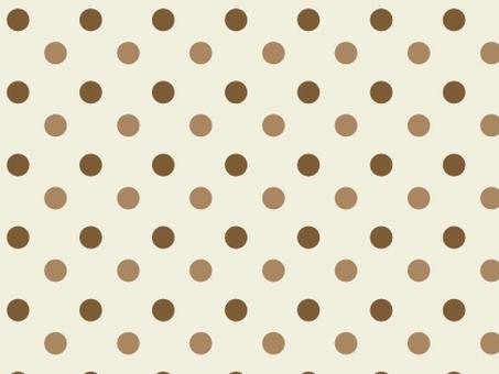 Polka dot (brown)