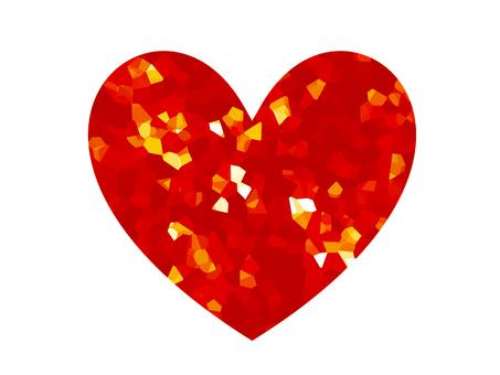閃爍的心2(紅色)
