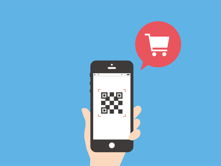 Image of shopping with smartphone