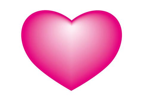 하트 아이콘 핑크