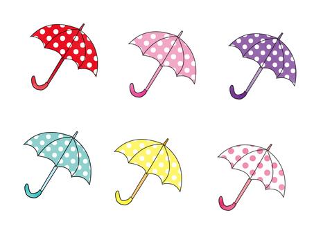 Umbrella water jade