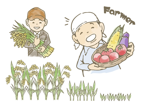 Harvesting and farming of farmers