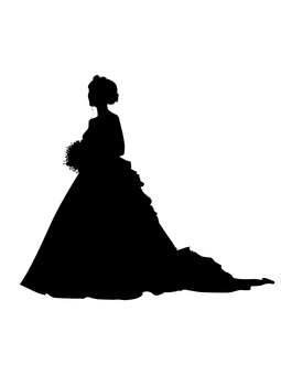 Person Silhouette 001-Wedding
