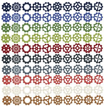 Various gears (10 books)